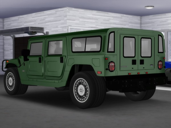 Tylerw Cars: 2005 Hummer H1 Alpha