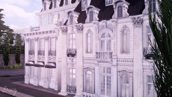 Gravy Sims: Parisian Inspired Buildings