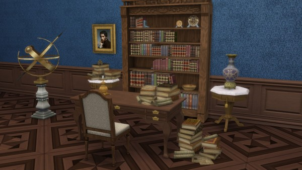 Mod The Sims: Pile o Books by TheJim07
