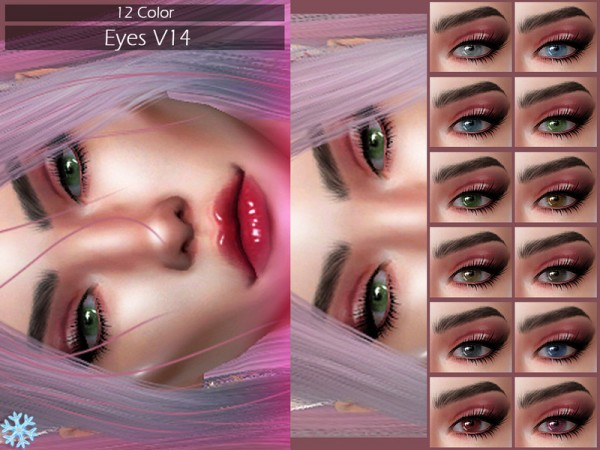 The Sims Resource: Eyes 14 by Lisaminicatsims