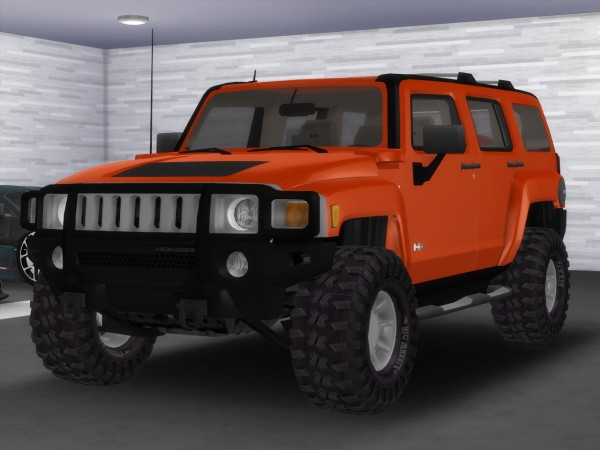 Tylerw Cars: 2007 Hummer H3x