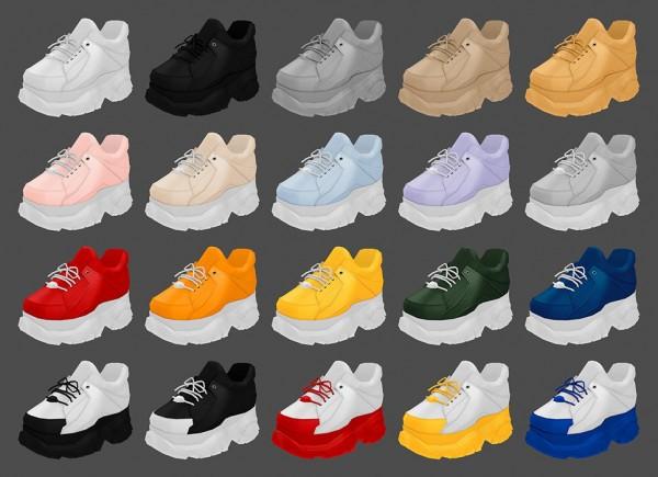 MMSIMS: Buffalo Sneakers
