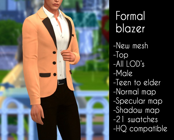 Lazyeyelids: Formal blazer