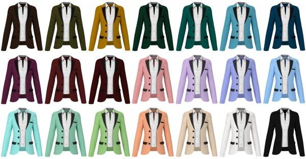Lazyeyelids: Formal blazer