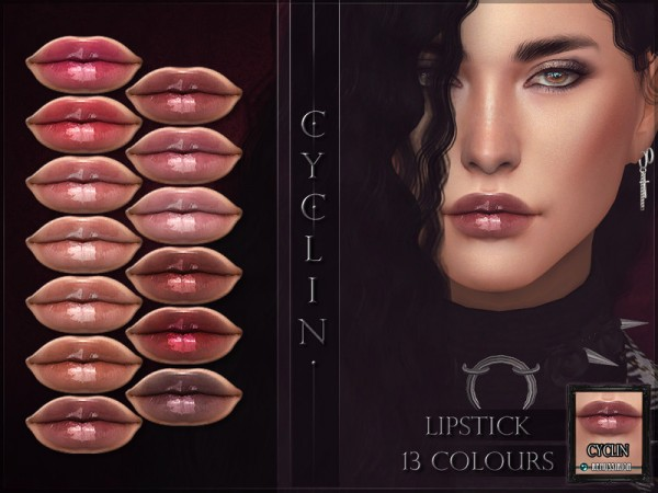 The Sims Resource: Cyclin Lipstick by RemusSirion