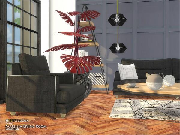 The Sims Resource: Marsilia Living Room by ArtVitalex