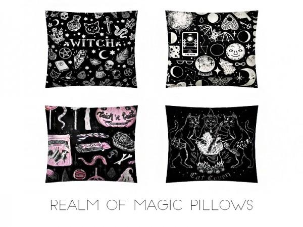 Kenzar Sims: Realm of magic pillows