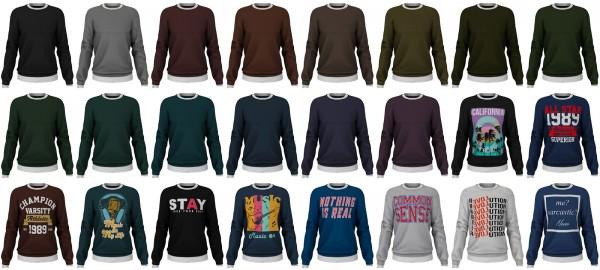 Lazyeyelids: Layerd sweater