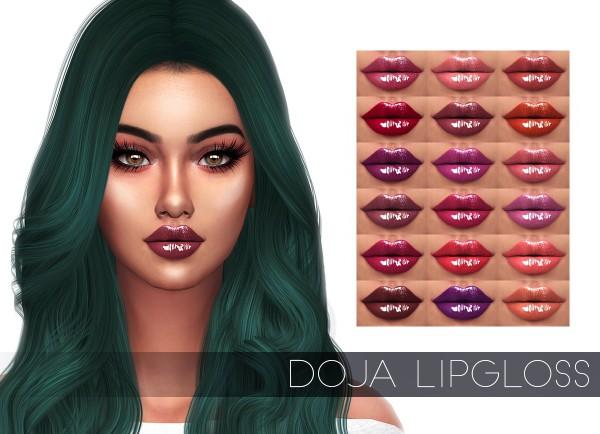 Kenzar Sims: Doja lipgloss