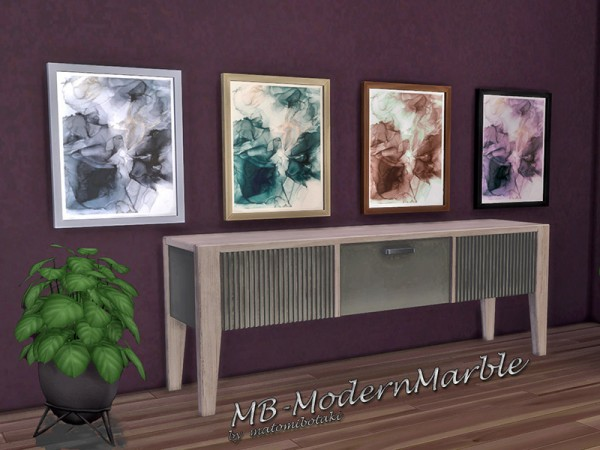 The Sims Resource: Modern Marble paints by matomibotaki