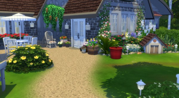 Sims Artists: Quietude House