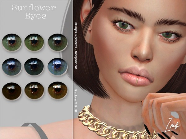 The Sims Resource: Sunflower Eyes N.110 by IzzieMcFire
