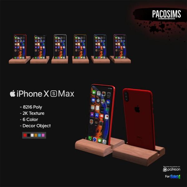Paco Sims: iPhone X s Max decor
