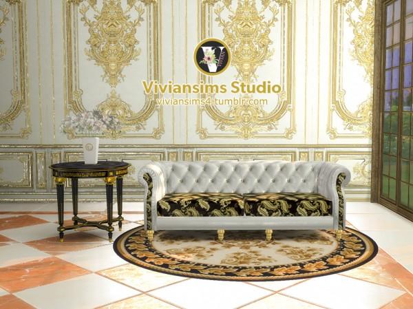 Vivian Sims: Classical Leather Sofa