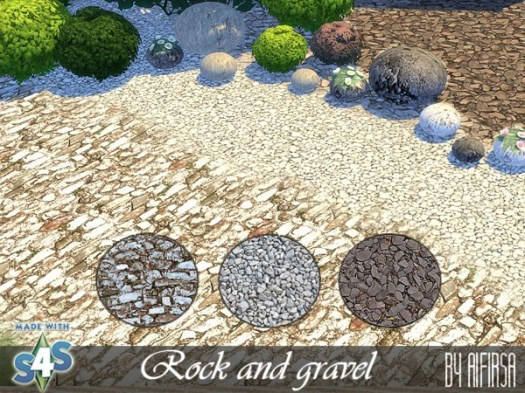 Aifirsa Sims: Land cover   Rock and Gravel