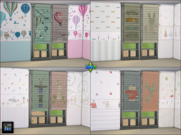 Arte Della Vita: Wallpapers and blinds for kids room