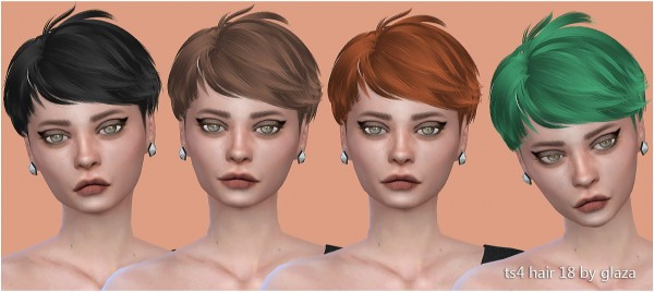 All by Glaza: Hair 18