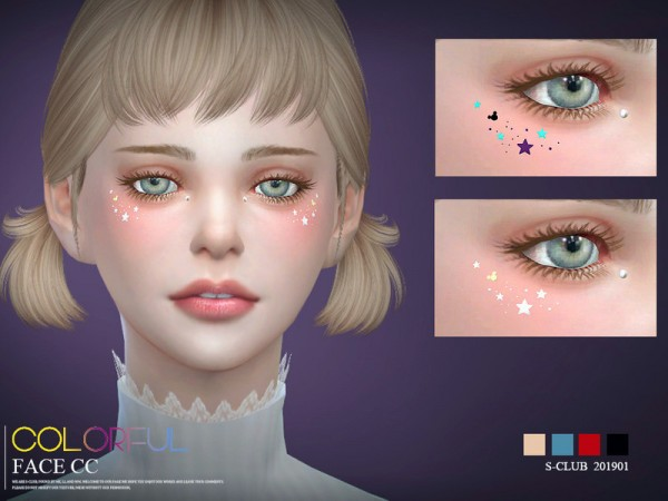 The Sims Resource: Face cc 201901 by S Club