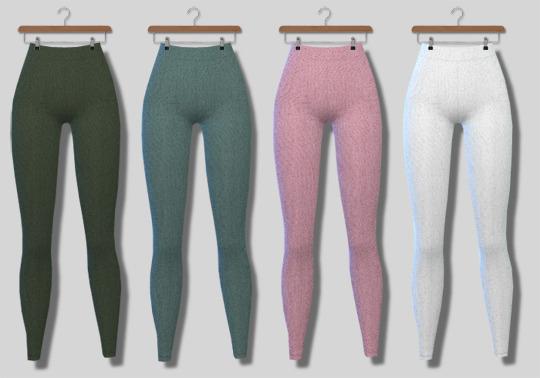 Descargas Sims: Basic Leggings