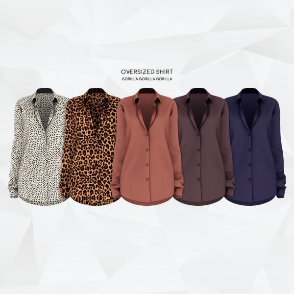 Gorilla: Oversized Shirt