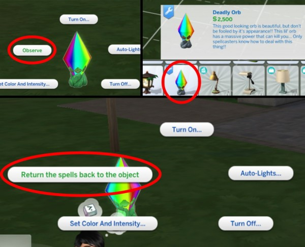 Mod The Sims: Deadly SpellCasters Mod by andrian m.l