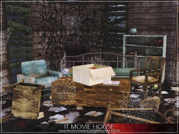 The Sims Resource: IT Movie House by MychQQQ