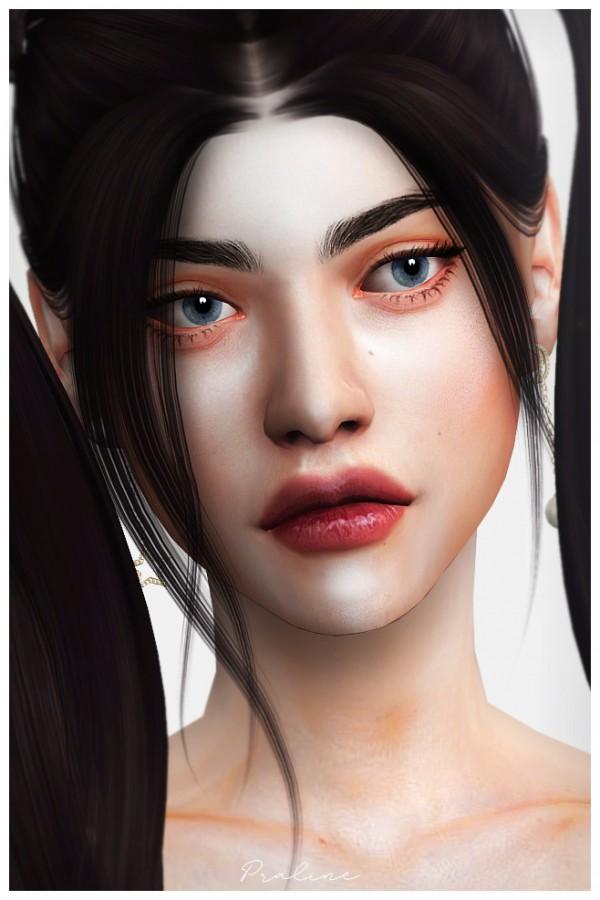 Praline Sims: 93 Skin and  28 Tattoos