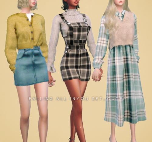 Newen: Shirt Dress Set