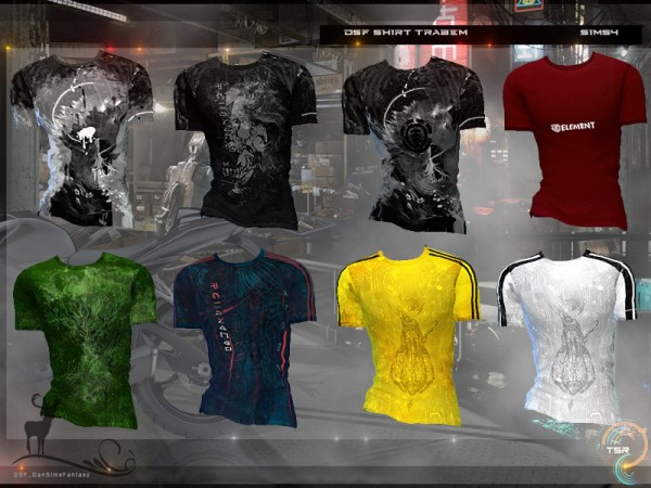 The Sims Resource: Shirt Trabem by DanSimsFantasy