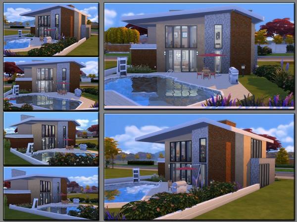 The Sims Resource: Final Blueprint house by matomibotaki
