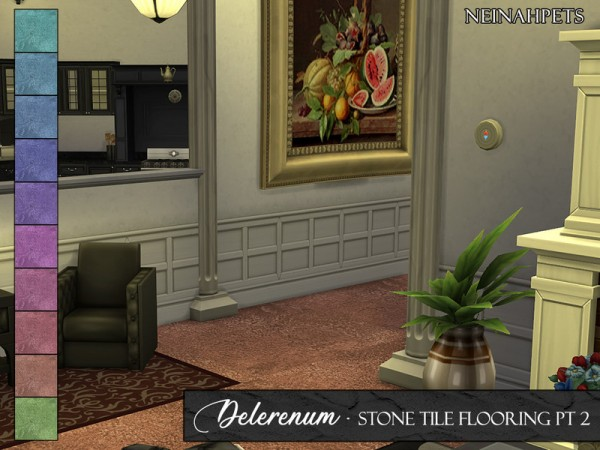 The Sims Resource: Delerenum Stone Tiles by neinahpets