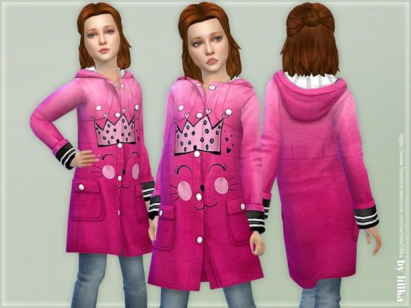 The Sims Resource: Cat Rain Jacket by lillka
