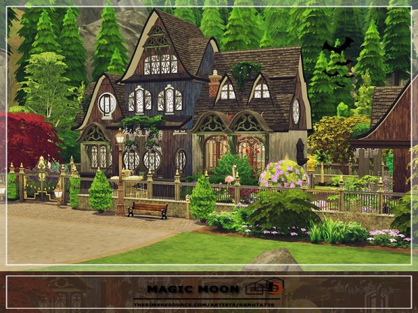The Sims Resource: Magic Moon House by Danuta720