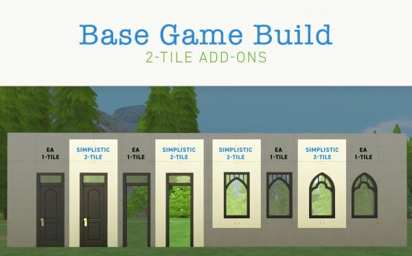 Simplistic: Build 2 tile Add ons