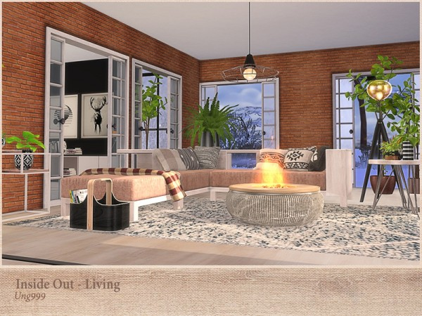 The Sims Resource: Inside Out Living by ung999