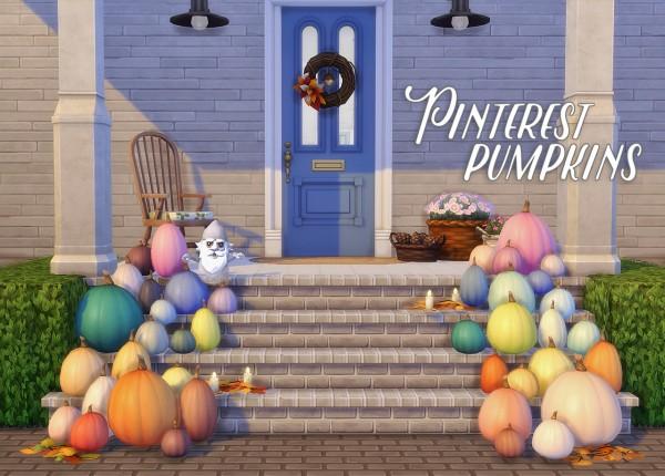 Hamburgercakes: Pinterest Pumpkins
