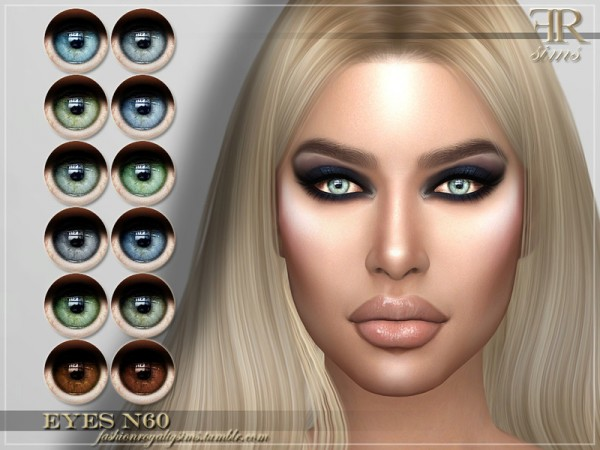 The Sims Resource: Eyes N60 by FashionRoyaltySims