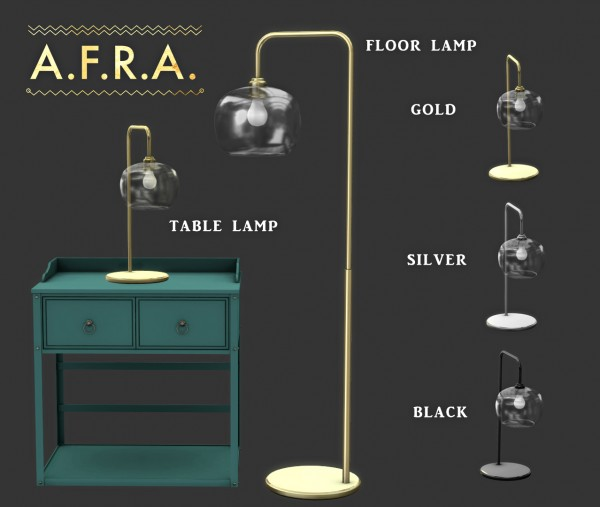 Leo 4 Sims: Afra Lighting