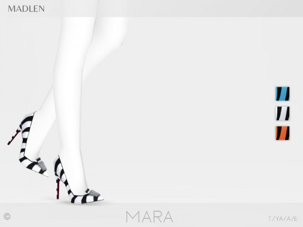 The Sims Resource: Madlen Mara Shoes by MJ95