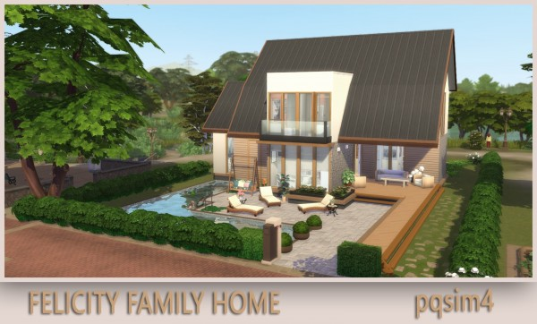 PQSims4: Felicity Family Home
