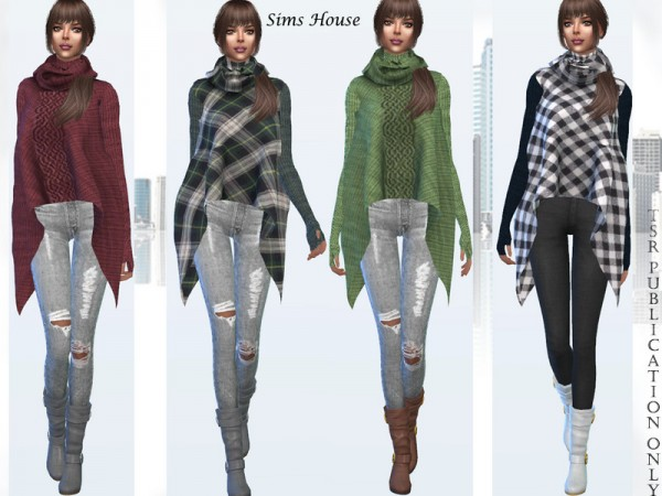 The Sims Resource: Poncho by Sims House