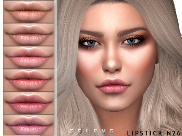 The Sims Resource: Lipstick N26 by Seleng