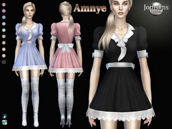 The Sims Resource: Amnye dress by jomsims