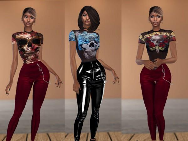The Sims Resource: Look Through it Shirt by Teenageeaglerunner