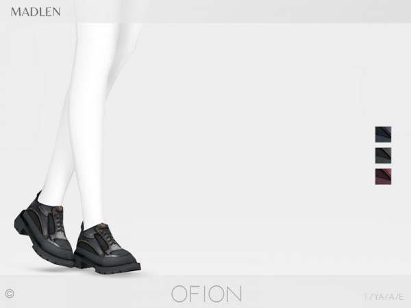The Sims Resource: Madlen Ofion Shoes by MJ95
