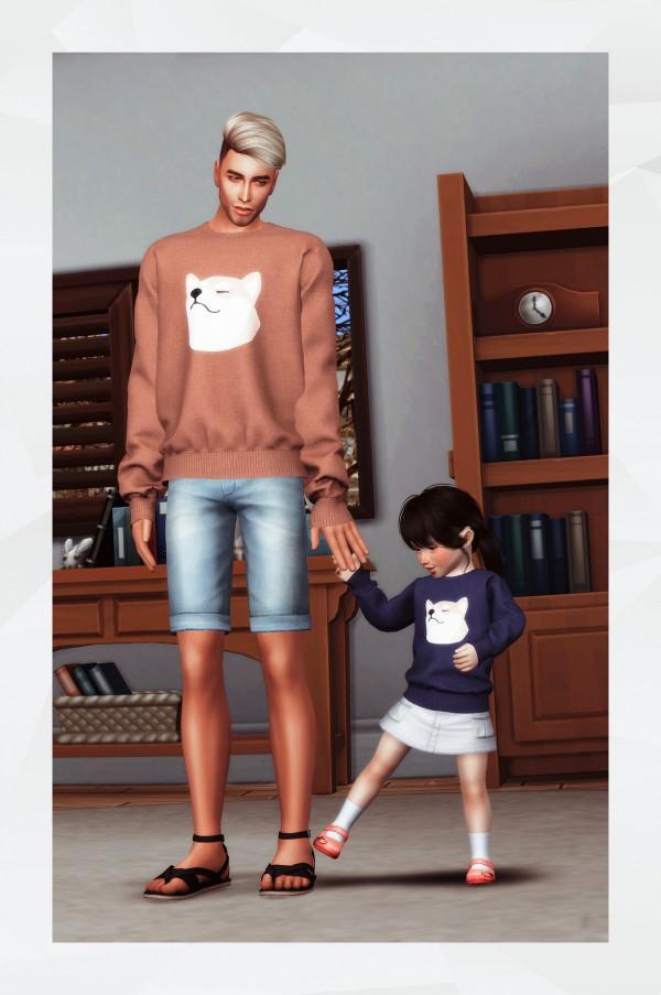 Gorilla: Oversized Sweatshirt   Toddlers version
