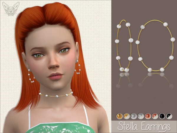 Giulietta Sims: Stella Earrings For Kids