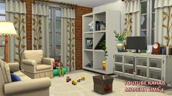 Sims 3 by Mulena: Family house T 61