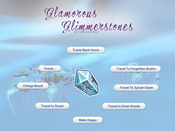Mod The Sims: Glamorous Glimmerstones by leroidetout