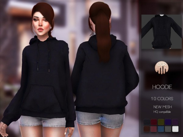The Sims Resource: Hoodie BD101 by busra tr